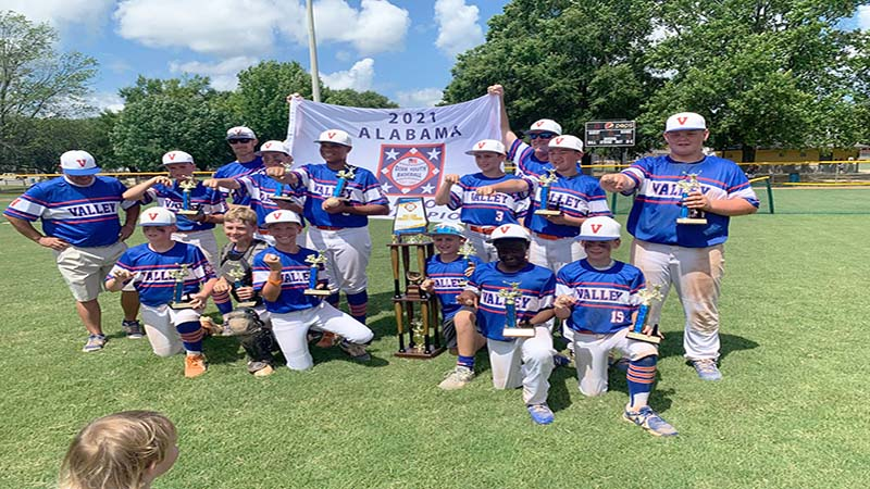 Valley 11 And 12 Year Old Ozone Team Advances To Dixie Youth World Series Valley Times News Valley Times News